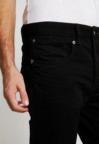 G-Star - STRAIGHT TAPERED - Straight leg jeans - zelz black denim - 5