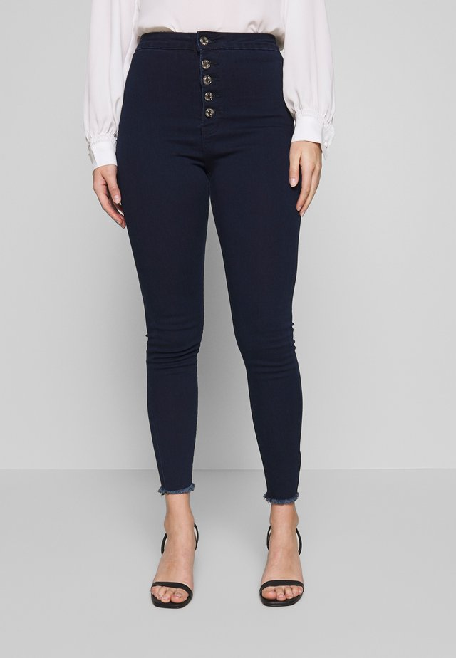 VICE BUTTON UP - Jeans Skinny - blue