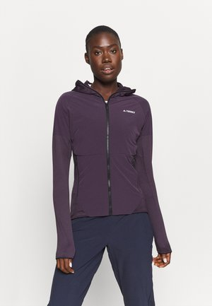SKYCLIMB - Zip-up hoodie - purple