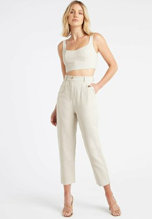 Trousers - ab beige