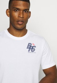 Nike Performance - DRY TEE - Print T-shirt - white - 4
