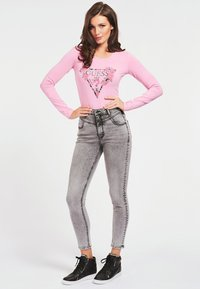 Guess - VILMA  - Long sleeved top - roze - 1