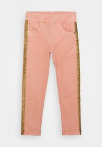 Lemon Beret - GIRLS PANTS - Kalhoty - pink glitter - 0