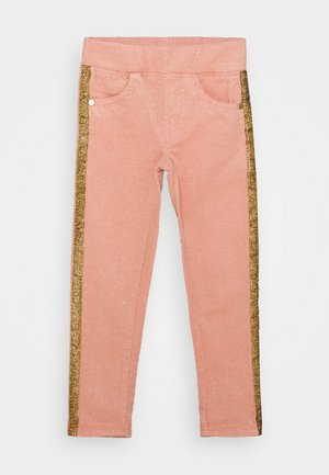 GIRLS PANTS - Broek - pink glitter
