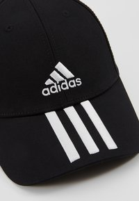 adidas Performance - 3STRIPES BASEBALL COTTON TWILL SPORT - Pet - black/white/white - 2