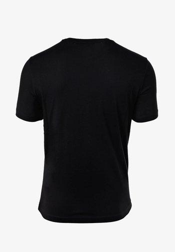 CREW NECK, RUNDHALS, COTTON  - T-shirt imprimé - schwarz
