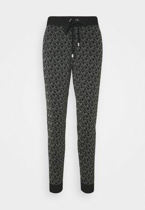 DOT LOGO JOGGER - Teplákové kalhoty - black