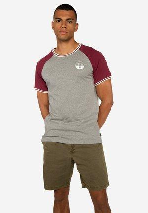 RIBSTON  - Print T-shirt - dark grey