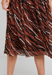 one more story - SKIRT - A-Linien-Rock - coffee caramel - 6