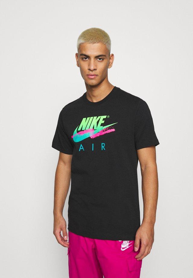 TEE FUTURA - T-shirt con stampa - black
