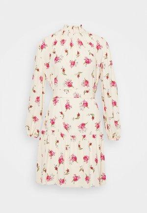 RISOULA - Day dress - rose/ecru