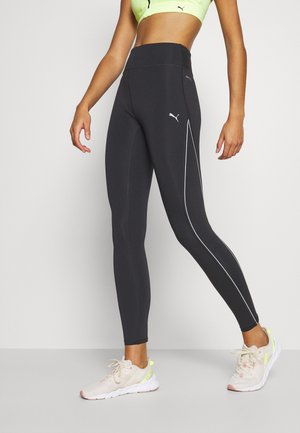 RUN HIGH RISE 7/8 - Leggings - black