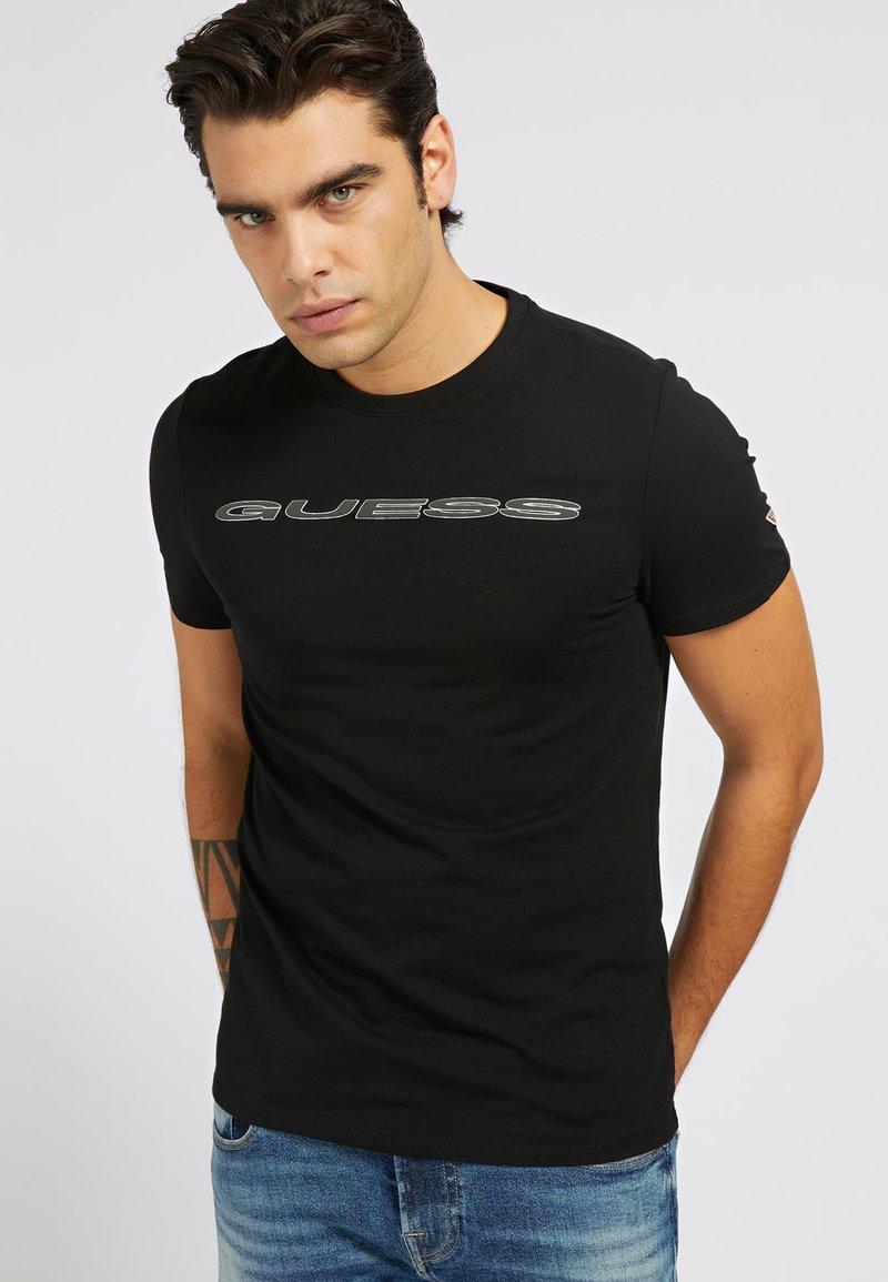 Guess - A$AP ROCKY - Print T-shirt - schwarz