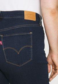 Levi's® Plus - 724 PL HR STRAIGHT - Straight leg jeans - dark blue denim - 5