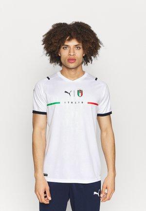 ITALIEN FIGC AWAY REPLICA - National team wear - white/peacoat