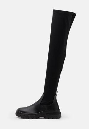 SAMBA - Over-the-knee boots - black