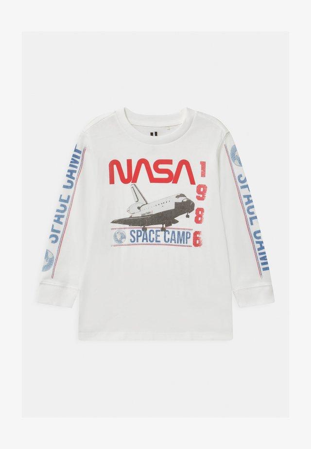 NASA - Topper langermet - white