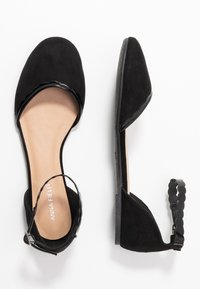Anna Field - Ankle strap ballet pumps - black - 3