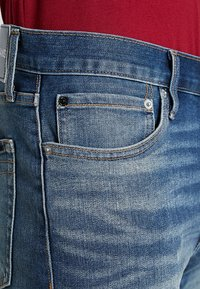 Calvin Klein Jeans - SLIM - Džínové kraťasy - denim - 3