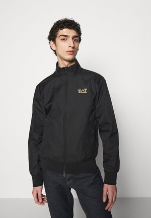 Bomber bunda - black/gold