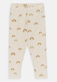 Lindex - RAINBOW - Leggings - Trousers - light beige - 0