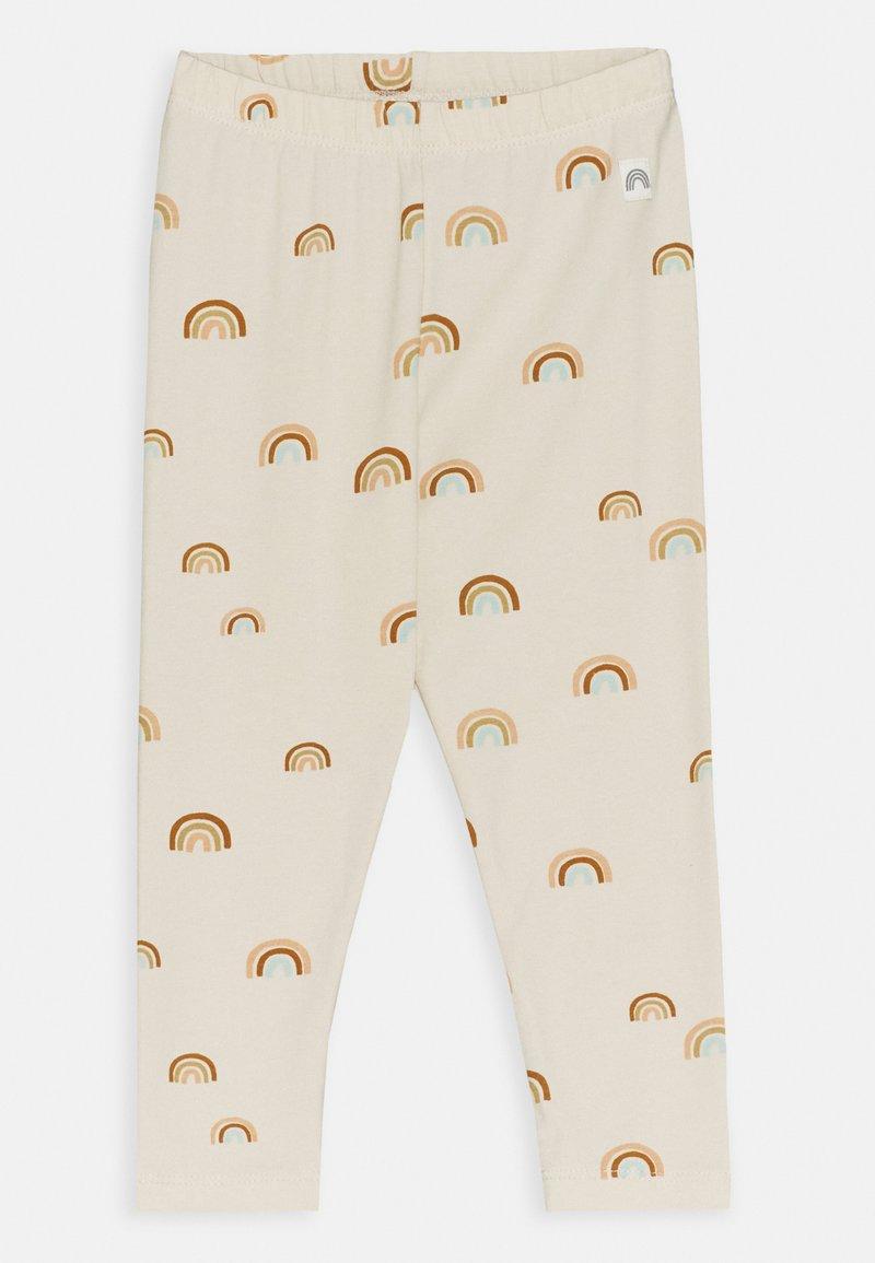 Lindex - RAINBOW - Leggings - Trousers - light beige