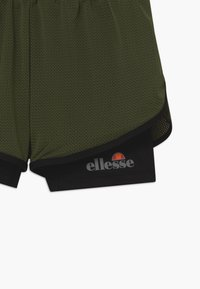 Ellesse - ARINO 2-IN-1 - Sports shorts - black/khaki - 3