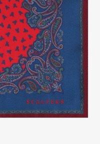 Scalpers - DREAMS SKULL  - Pocket square - burgundy - 2