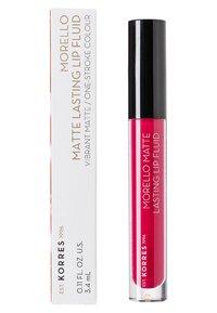 Korres - MORELLO MATTE LASTING LIP FLUID - Liquid lipstick - 29 strawberry kiss - 1