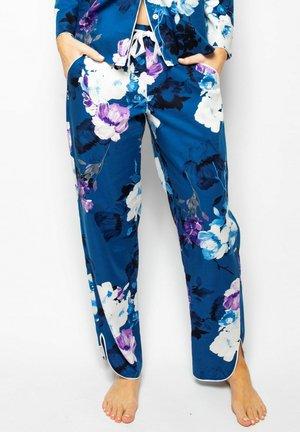 Pyjama bottoms - blue floral