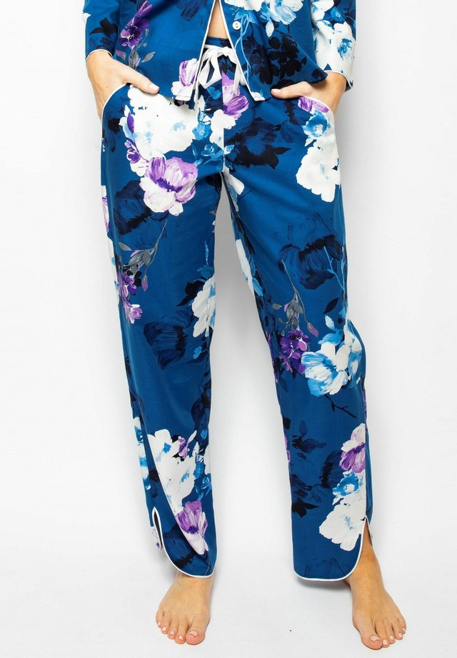 Pyjama bottoms - blue floral