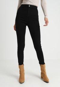 Dorothy Perkins Tall - LYLA - Jeans Skinny Fit - black - 0