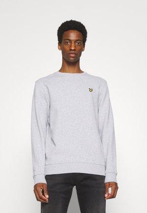 CREW NECK - Sweatshirt - light grey marl