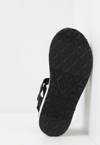 Teva - FLATFORM UNIVERSAL WOMENS - Chodecké sandály - black/tan - 4