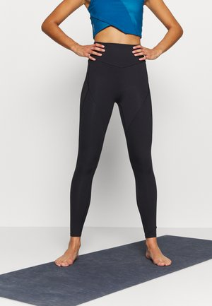 STUDIO PORCELAIN ULTRA RISE FULL - Leggings - black