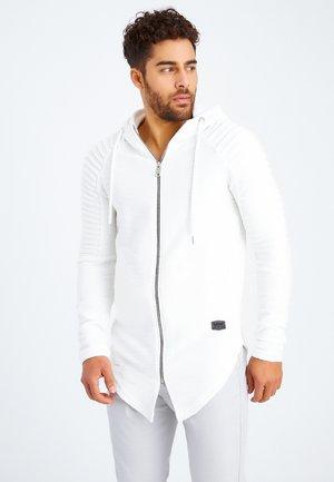 Sweater met rits - dunkelgrau