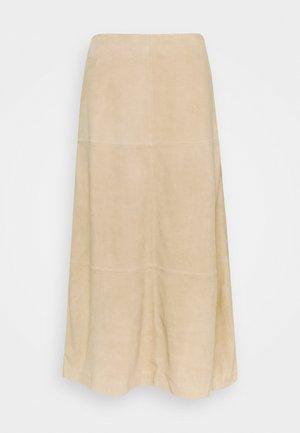 ORITZ - A-line skirt - sawdust