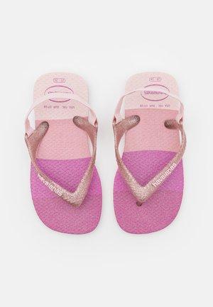 PALETTE GLOW - Teensandalen - candy pink