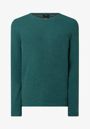 Stickad tröja - grün