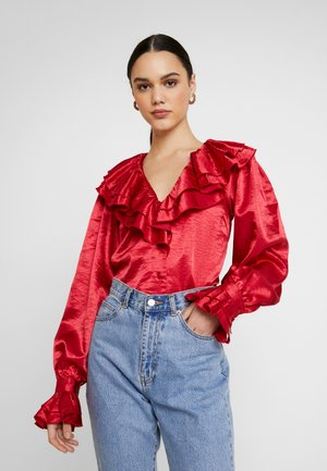TIME OFF - Blouse - red