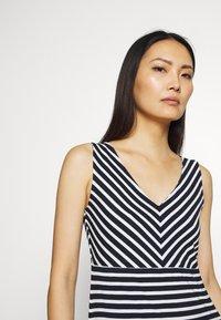 TOM TAILOR - Jersey dress - navy/stripe - 3