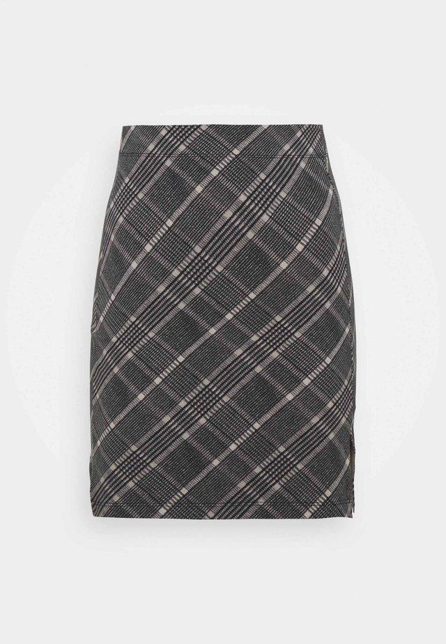 Minijupe - black/multi-coloured