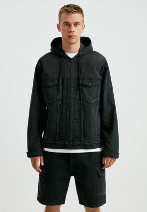 Giacca di jeans - black denim