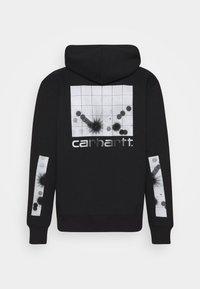 Carhartt WIP - HOODED REFLECTIVE HEADLIGHT - Mikina skapucí - black /reflective grey - 1