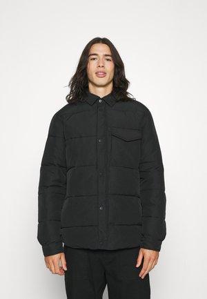 JACKET WITH FILLING - Light jacket - black