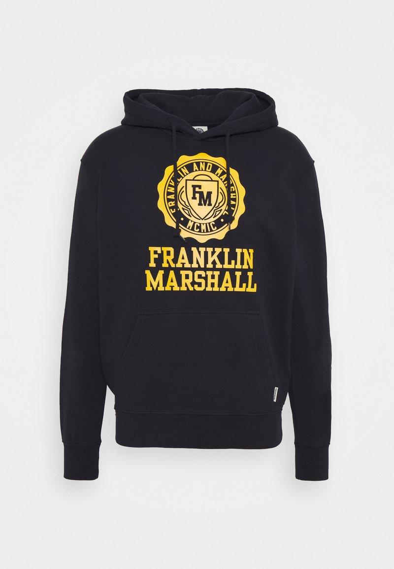 Franklin & Marshall - Triko spotiskem - navy