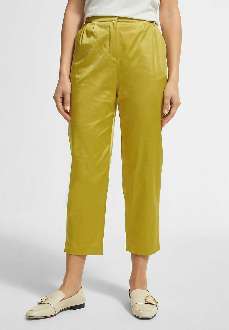 comma - Trousers - light green