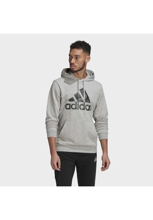 CAMOUFLAGE HD ESSENTIALS SPORTS REGULAR SWEATSHIRT HOODIE - Sweat à capuche - grey