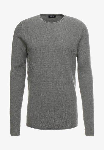 SLHROCKY  - Jumper - medium grey melange
