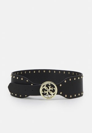 BELT MIKA NOT ADJUS SOFT WAIST BELT - Pasek - black/gold-coloured